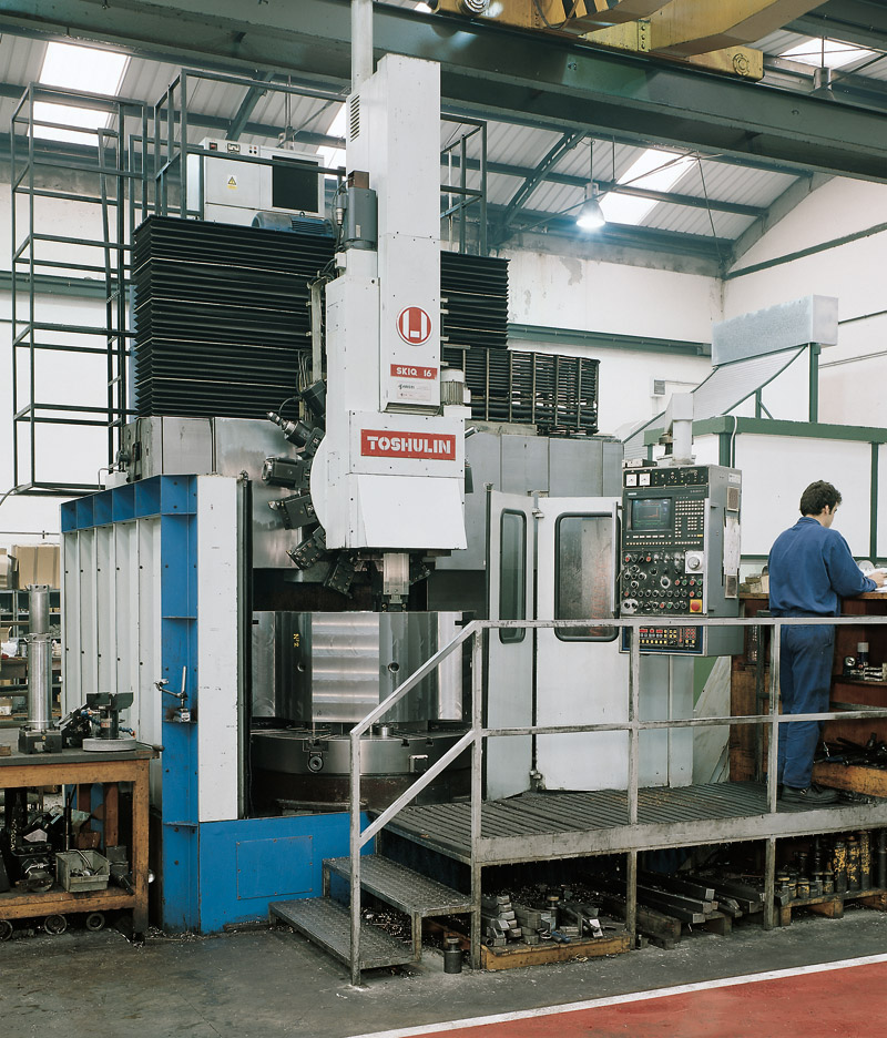 CNC Lathes Vertical